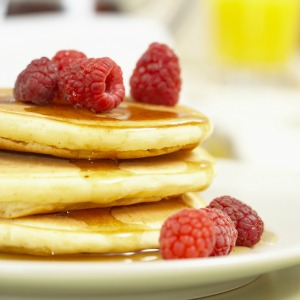 sample pancakes I tasted at Whole Foods Boulder