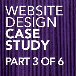 website design case study part 3 of 6