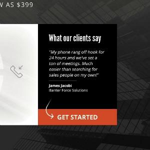 denver website agency design screenshot
