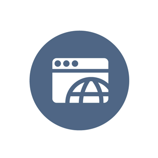 circular ecommerce icon