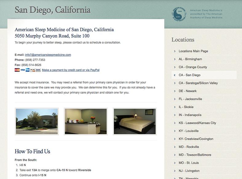 Web design and expressionengine website development project