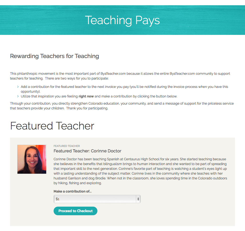 By A Teacher - Internal Page