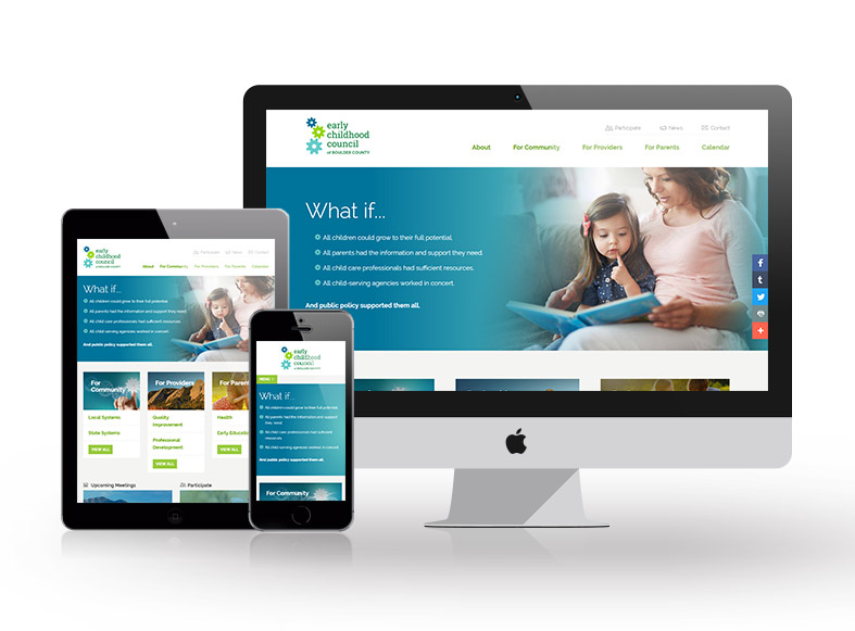 Responsive Denver website design and development project