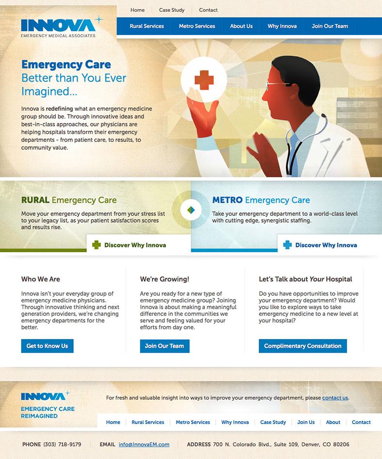 Innova Emergency Medical Homepage