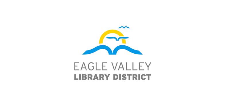 colorado library logo design for the eagle valley library