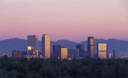 web development in Denver, Colorado (skyline photo)